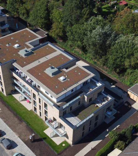 Gebäudeensemble an der Eckerkoppel, Hamburg Farmsen